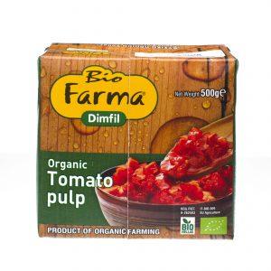 Organic Tomato pulp 500gr
