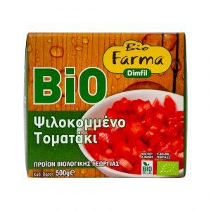 Τοματάκι ψιλοκομμένο Tetra Pak Bio Farma 500gr