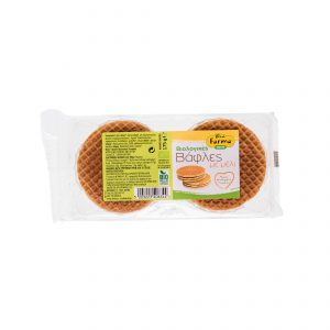 Organic honey waffles 175gr
