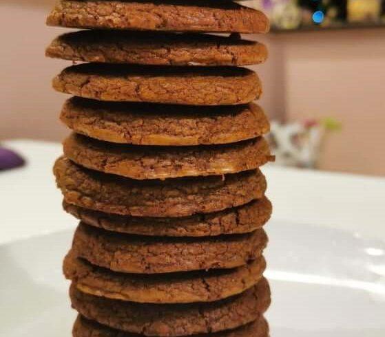 Αφράτα μπισκότα με πραλίνα φουντουκιού BIO FARMA